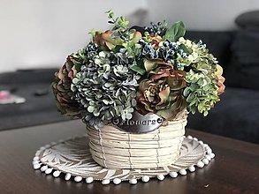 Dekorácie - Kvetinova dekoracia - 13413630_