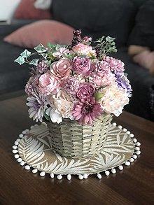 Dekorácie - Kvetinová dekorácia - 13413640_
