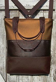 "Batohy - ""backpack 3in1- bronze age"" - Batoh & taška cez rameno - 13412536_"