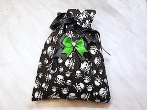 Úžitkový textil - Darčekové vrecúško, kozmetický sáčok, vrecúško na šperky, - 13415407_