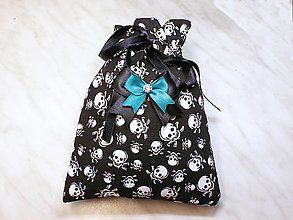 Úžitkový textil - Darčekové vrecúško, kozmetický sáčok, vrecúško na šperky, - 13415410_