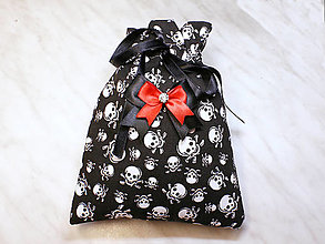 Úžitkový textil - Darčekové vrecúško, kozmetický sáčok, vrecúško na šperky, - 13415411_