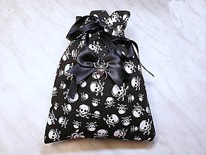 Úžitkový textil - Darčekové vrecúško, kozmetický sáčok, vrecúško na šperky, - 13415419_