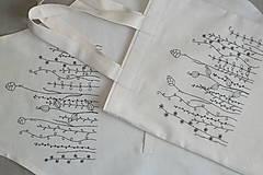 Iné oblečenie - Zásterka zo surovej bavlny Kreslené trávy fantázia - 13415786_