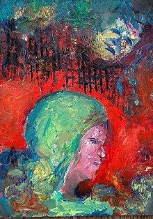 Obrazy - Žena a jej démoni - 13416335_