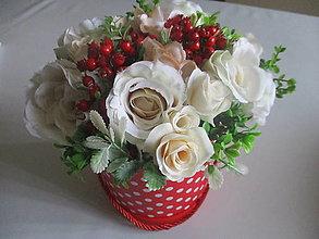 Dekorácie - Flower box - 13414607_