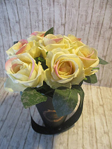 Dekorácie - Flower box - 13414632_