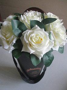 Dekorácie - Flower box - 13414657_