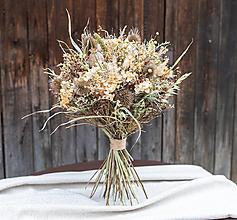 Dekorácie - Kytica zo sušených kvetov - 13415950_