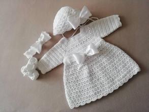 Detské oblečenie - Supravička na krst - 13414672_