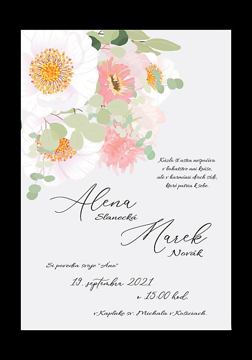 svadobné oznámenie 285