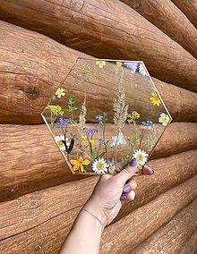 Dekorácie - Obraz s lúčnymi kvetmi  - 13415110_