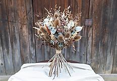 Dekorácie - Kytica zo sušených kvetov - 13419025_