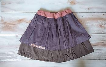 Detské oblečenie - Dievčenská štýlová dvojvrstvová sukienka - 13418126_