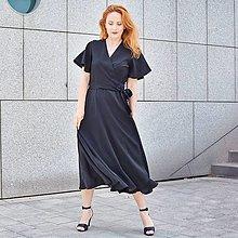 """Šaty - KAMILA - tencelové zavinovacie šaty """"rôzne farby"""" - 13417530_"""