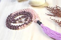 Náhrdelníky - Náhrdelník JAPA 108 - Růžové snění..... - 13419133_