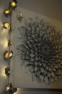 Svietidlá a sviečky - Vintage svetielka Harmónia a romantika - 13417052_