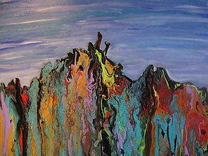 Obrazy - Fantasy rocks - 13418373_