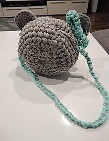 Kabelky - Háčkovaná kabelka Minnie - 13419458_