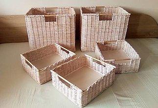 Košíky - Boxy pieskové ERIKA / doplatok - 13416545_