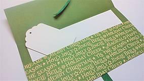 Papiernictvo - Obálka na darček III - 13422632_