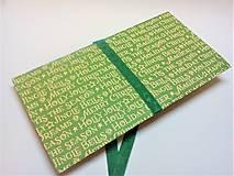 Papiernictvo - Obálka na darček III - 13422635_