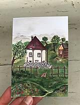 Papiernictvo - Domcek / pozdrav - 13419591_