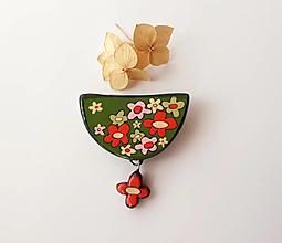 Odznaky/Brošne - Lúka -brošňa - 13420347_