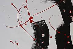 Obrazy - broken . akryl na výkrese . A3 - 13420923_