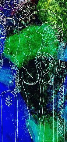 Kresby - Záhradná slávnosť - 13423490_
