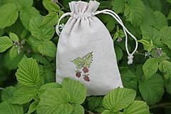 Potraviny - Ostružina malinová 20g sypaný čaj v ľanovom vrecku - 13421959_