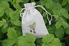 Potraviny - Ostružina malinová 20g sypaný čaj v ľanovom vrecku - 13421960_