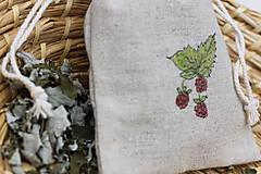 Potraviny - Ostružina malinová 20g sypaný čaj v ľanovom vrecku - 13422453_