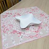 Úžitkový textil - SAKURA - štvorcový obrus - 13420428_