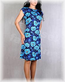 Šaty - Šaty s řasením v pase vz.660 - 13425651_