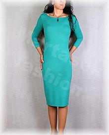 Šaty - Šaty pouzdrové vz.661 více barev - 13425791_