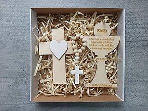 Dekorácie - Set na prvé sväté prijímanie - 13425509_