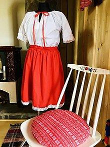 Sukne - Blúzočka a suknička - 13425607_