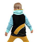 Detské oblečenie - Originálna súprava - zajko a srnka (Súprava (mikina+ žlté tepláky) v:98) - 13423605_
