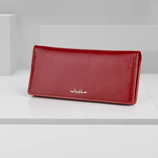Peňaženky - Peňaženka na doklady a papierové bankovky MARATHON - 13426438_