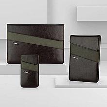 Na notebook - Kožená kolekcia NATURE, obal na notebook / tablet - 13424307_
