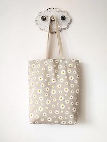 Nákupné tašky - Taška Margarétky - 13423951_