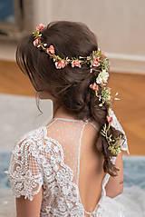 """Ozdoby do vlasov - Pletenec do vlasov """"keď rozkvitne máj"""" - 13424239_"""