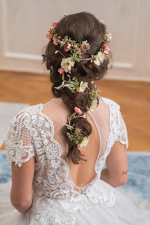 "Pletenec do vlasov ""keď rozkvitne máj"""