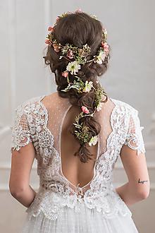 """Ozdoby do vlasov - Pletenec do vlasov """"keď rozkvitne máj"""" - 13424235_"""