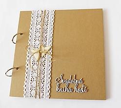 Papiernictvo - svadobná kniha hostí - 13426866_