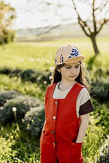 Detské oblečenie - Detský teplákový overal VILMA - 13427595_