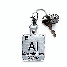 Kľúčenky - Kľúčenka prvok Al-so mnou je to ľahšie - 13429890_