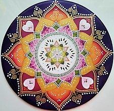 Dekorácie - Mandala...Dar života a lásky - 13427774_