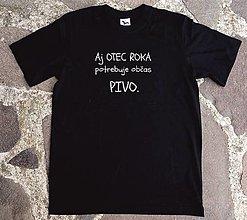 Tričká - tričko pre otca roka - 13427854_
